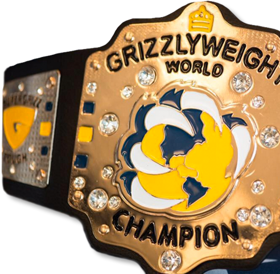Memphis Grizzlies Wrestling Belts